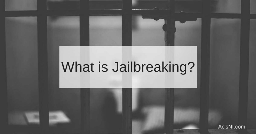 iphone jail break