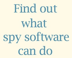 what can spy software do