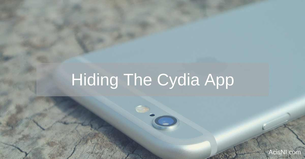 how to hide Cydia and hide jailbreak