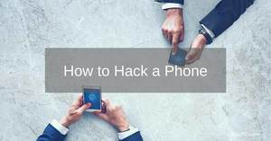 how to hack a phone