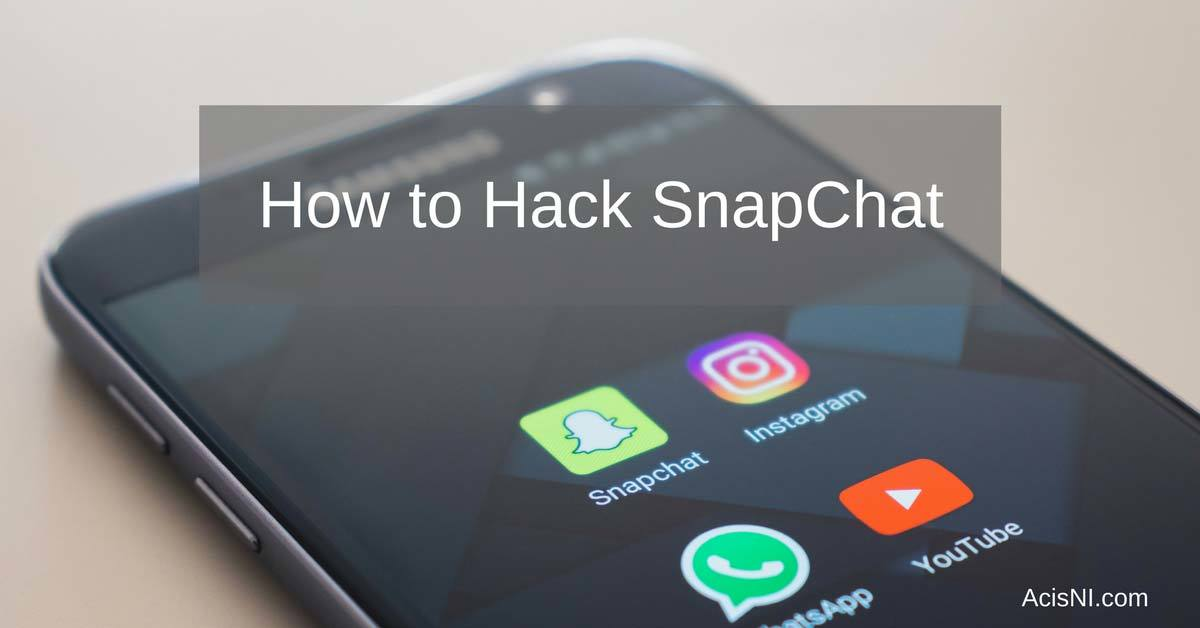 how to hack snapchat account