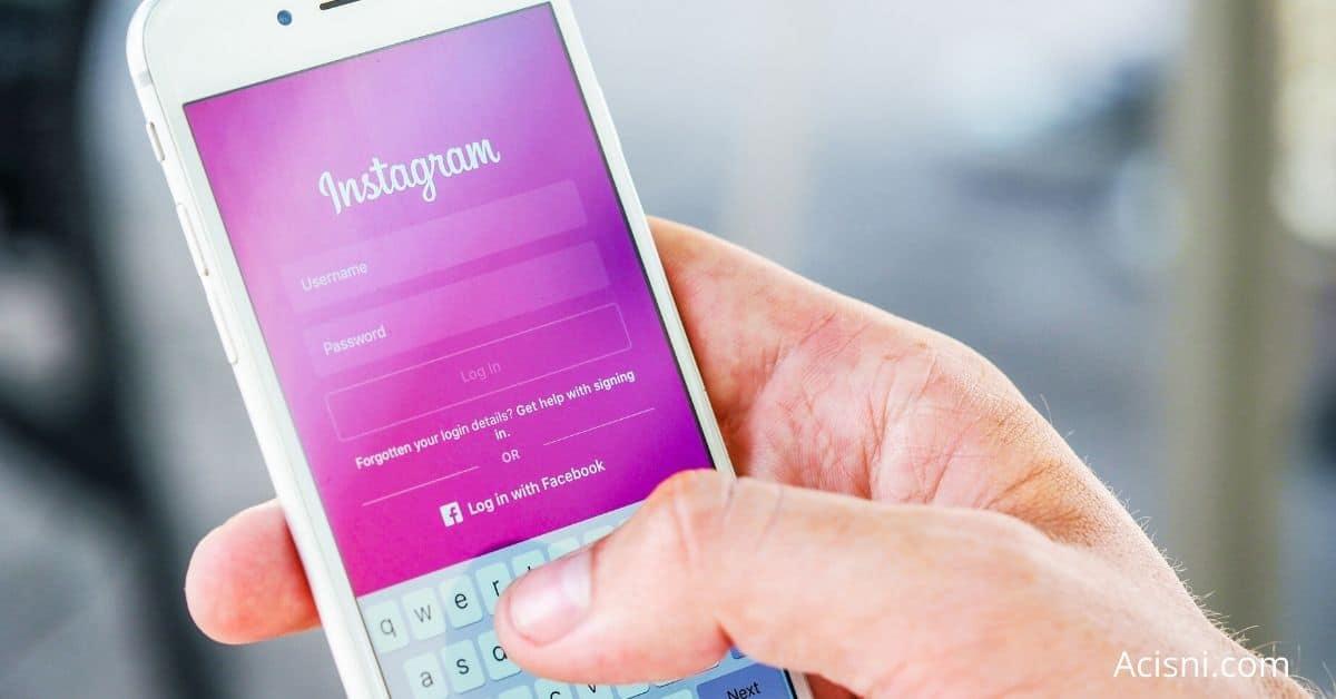 instagram password