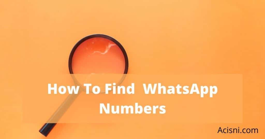 how to find new friends on WhatsApp