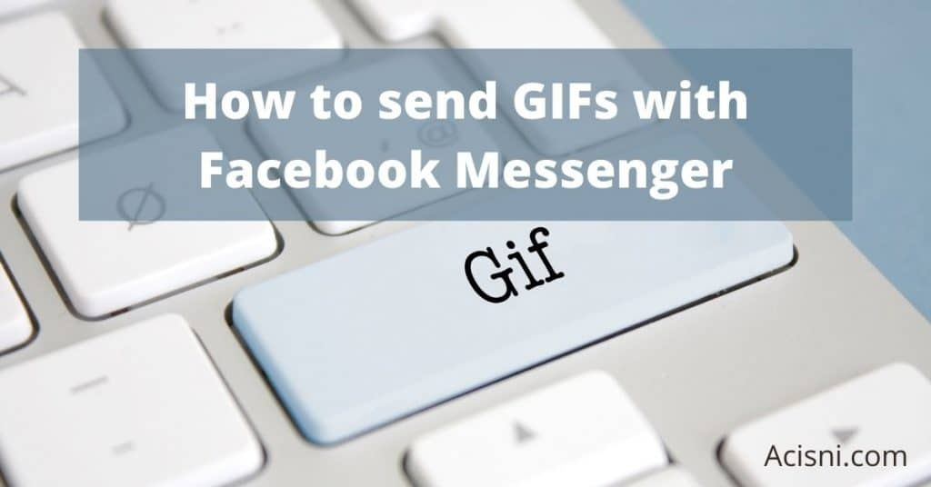 how to send a GIF in Messenger