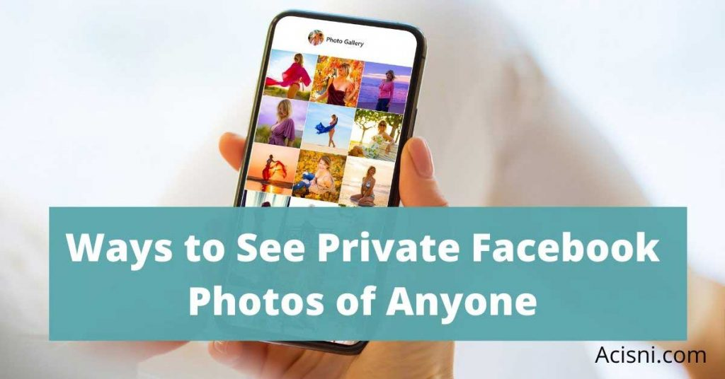 facebook private photo viewer
