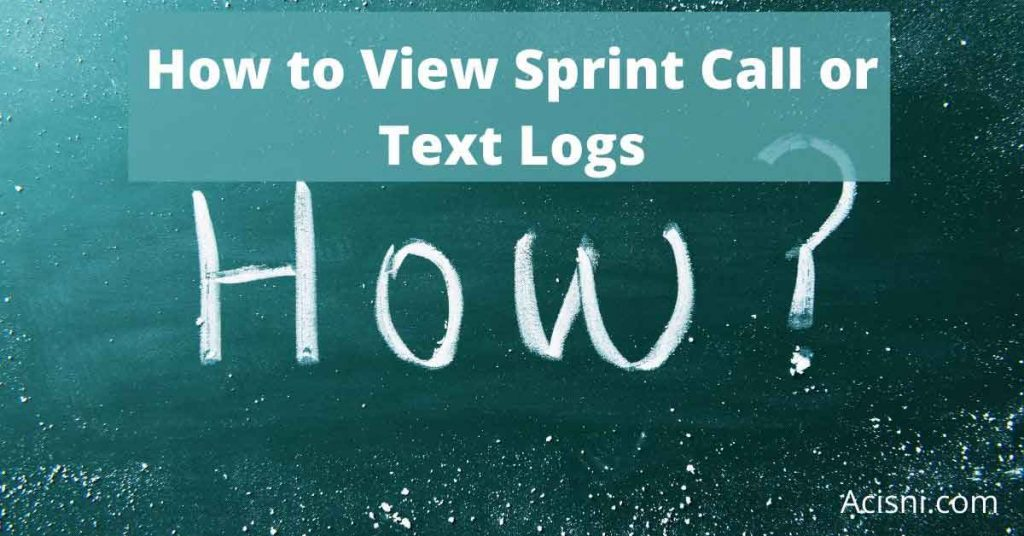 can sprint account holder read text messages